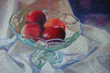 Fruit Bowl 24 x 36""