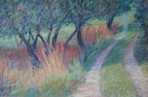 "Orchard Path 24 x 36"""