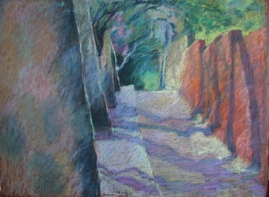 "San Miguel Shadows 18"" x 24"""