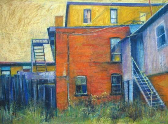 Back Steps by Aleda O'Connor