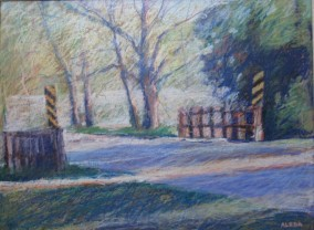 "Bridge, Grey County 18"" x 24"" SOLD"
