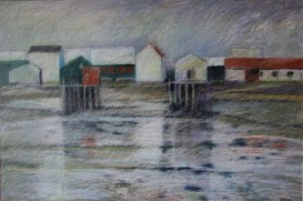 """Woodwards Cove 24"""" x 36"""" SOLD"""