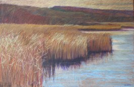 """Wye Marsh 24"""" x 36"""" SOLD"""