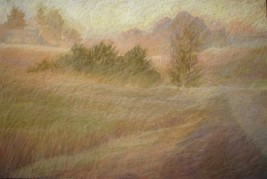 """Ontario Byway 24"""" x 36"""" SOLD"""