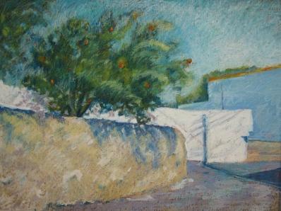 "Orange Tree, Katavia 18 x 24"""