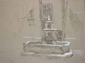 """Fountain 10"""" x 14"""""""