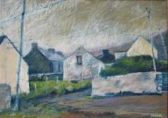 """Achill Farm Gate 22"""" x 28"""""""