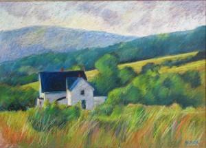 "Nova Scotia Farm, Cumberland County 20 x 28"" SOLD"