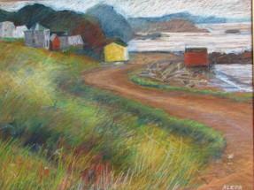 "Red Cliff, Newfoundland 18"" x 24"""