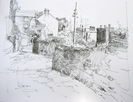 """Middle Glanmire Road 8 1/2 """" x 11"""""""