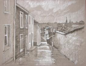 """View St Finbarre's. 8.5"""" x 11"""""""