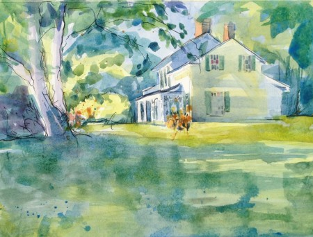 """12"""" x 16"""" Watercolour"""