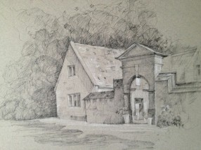 Stanway House Cotswolds, by Aleda O'Connor
