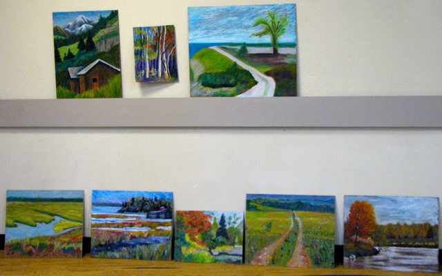 Markham Group of Artists Pastel paintings