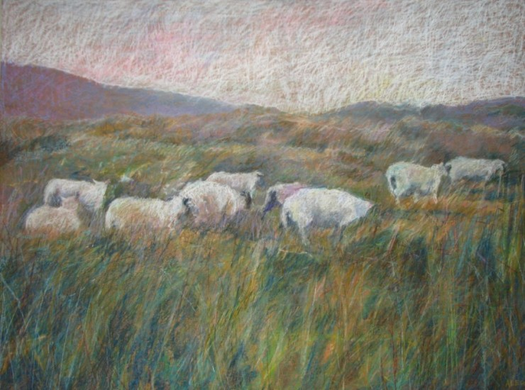 Gathering Flock     36  x  48