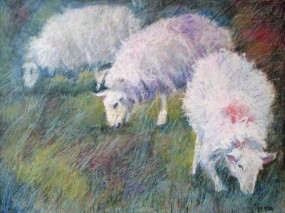 Together by Aleda O'Connor 18 x 24 SOLD