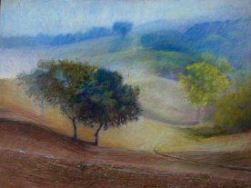 "Cerulean Hills 36"" x 48"""
