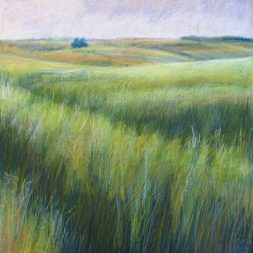 """Spring Wheat 30"""" x 30"""" SOLD"""