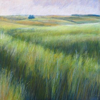 "Spring Wheat 30"" x 30"" SOLD"