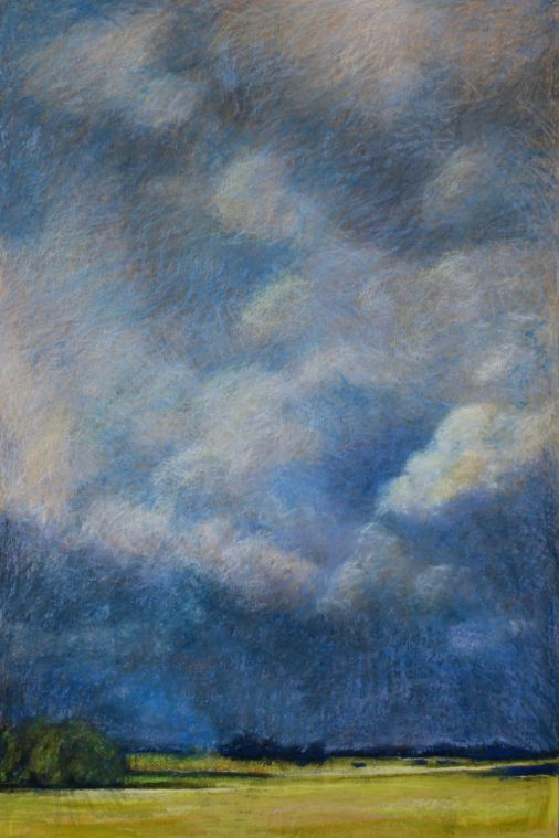"""Storm Approach 24"""" x 36"""" SOLD"""