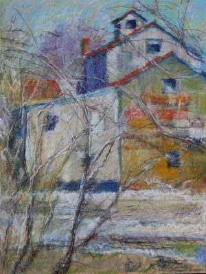 """Chisolm Mill 18"""" x 24"""" SOLD"""