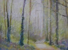 """Forest Cathedral 18"""" x 24"""" SOLD"""