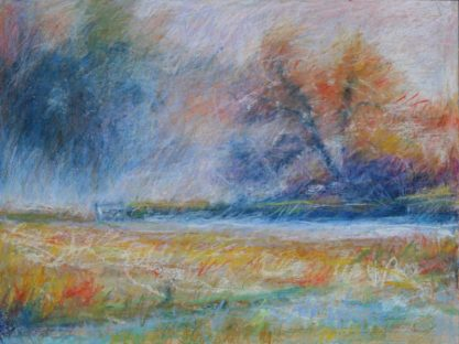 "October Frost 18"" x 24"" SOLD"