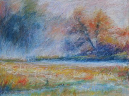 """October Frost 18"""" x 24"""" SOLD"""