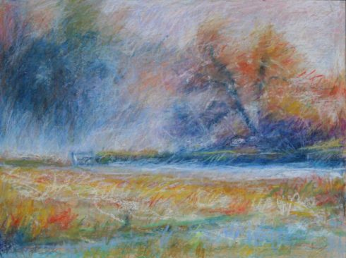 """October Frost 18"""" x 24"""""""