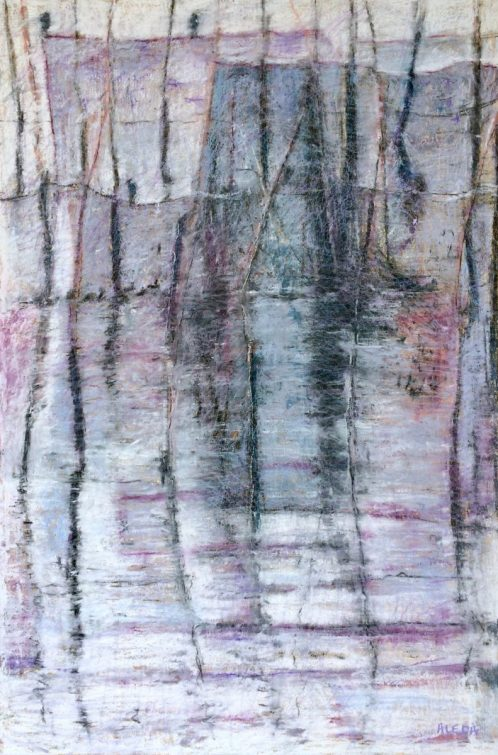 """Weir Two, 24"""" x 36"""""""