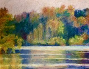"Cootes Colour. 11"" x 14"" SOLD"