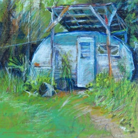 """Camp 8"""" x 8"""" SOLD"""