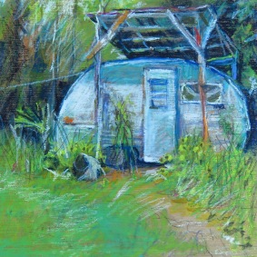 "Camp 8"" x 8"" SOLD"