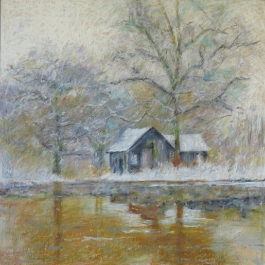 """Long Point Thaw 24"""" x 24"""" SOLD"""