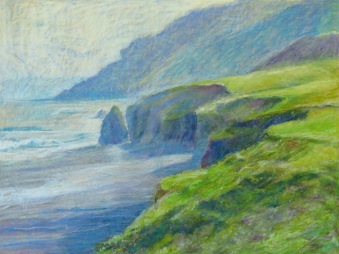 "Northern Beach 30"" x 40"" SOLD"