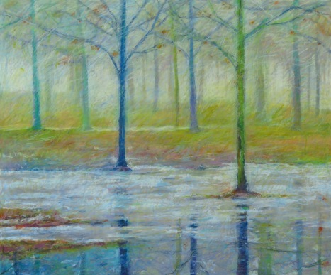 "Park Thaw 30"" x 36"" SOLD"